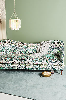 Slide View: 1: Liberty for Anthropologie Strawberry Thief Pied-A-Terre Sofa