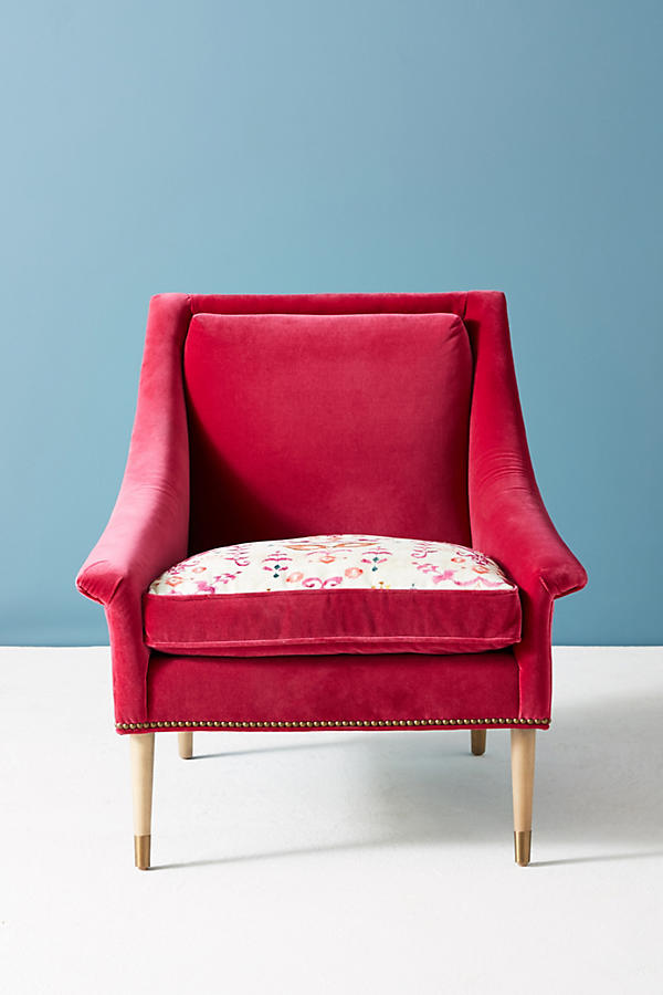 Slide View: 2: Purcella-Printed Tillie Chair