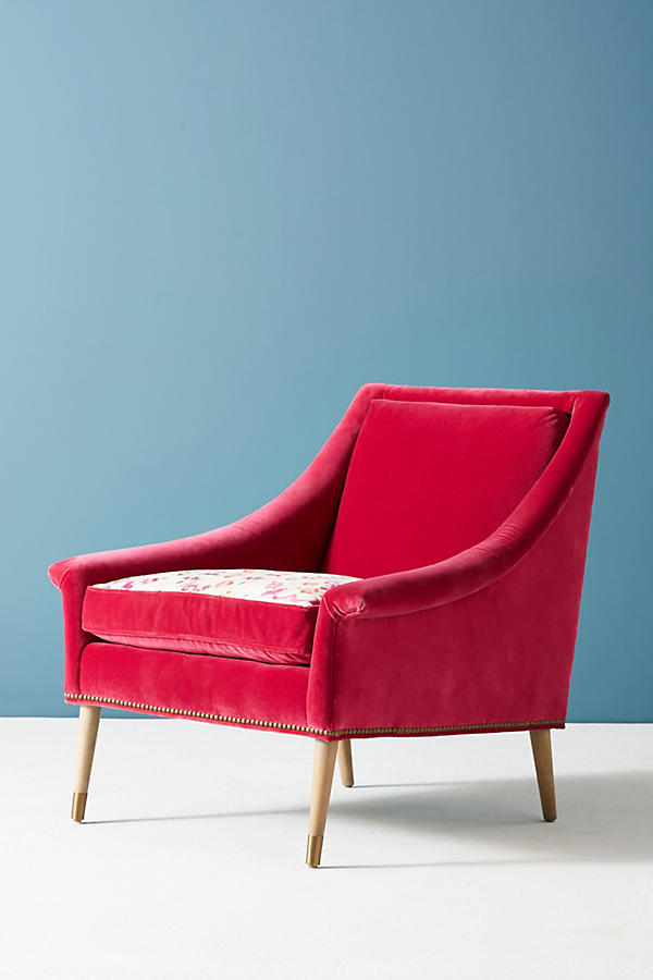 Slide View: 3: Purcella-Printed Tillie Chair