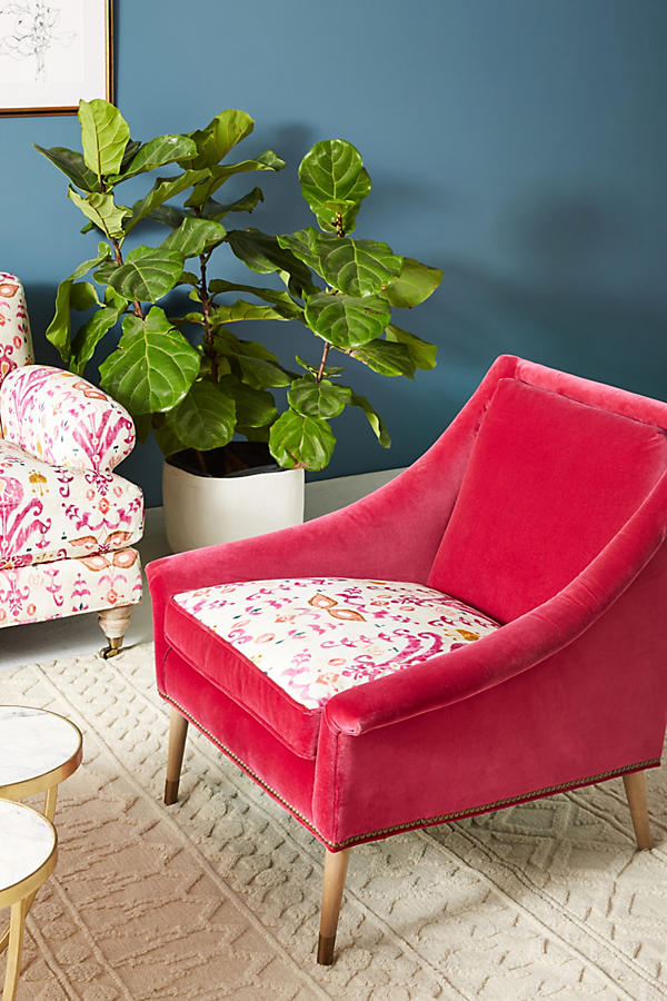 Slide View: 1: Purcella-Printed Tillie Chair