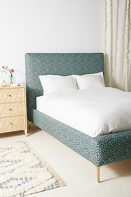 Slide View: 1: Liberty for Anthropologie Feather Fan Edlyn Bed