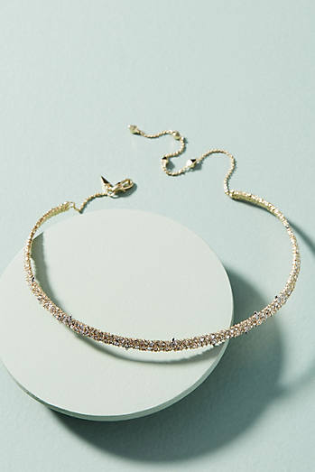 Crystalline Choker Necklace