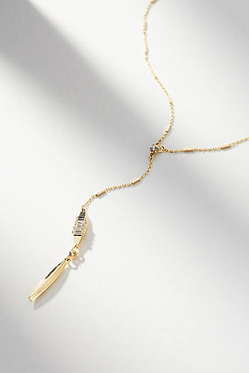 Ainsley Lariat Necklace