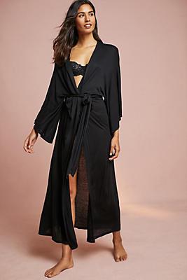 Slide View: 1: Eberjey Colette Long Kimono Robe