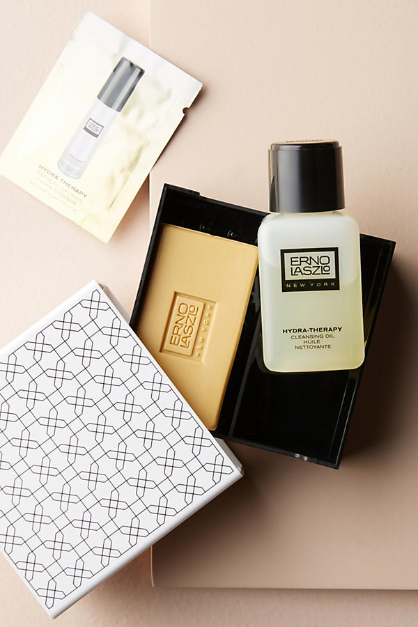 Slide View: 1: Erno Laszlo Hydra-Therapy Double Cleanse Travel Set