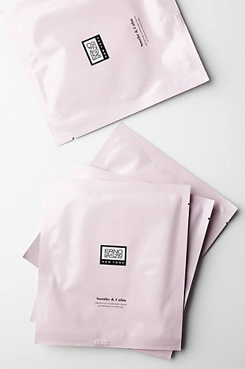 Slide View: 1: Erno Laszlo Soothe & Calm Hydrogel Mask Set