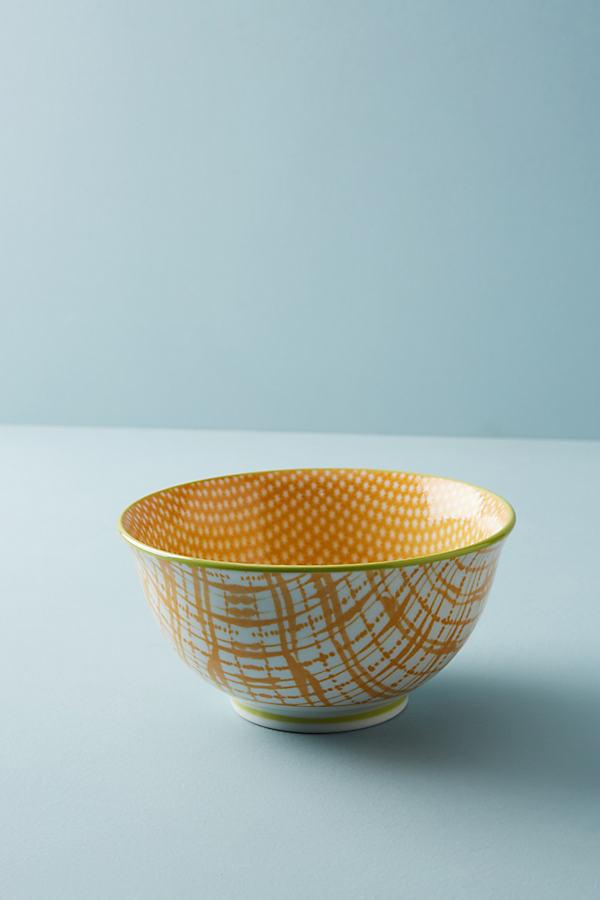 Marta Serving Bowl - Yellow, Size Pasta