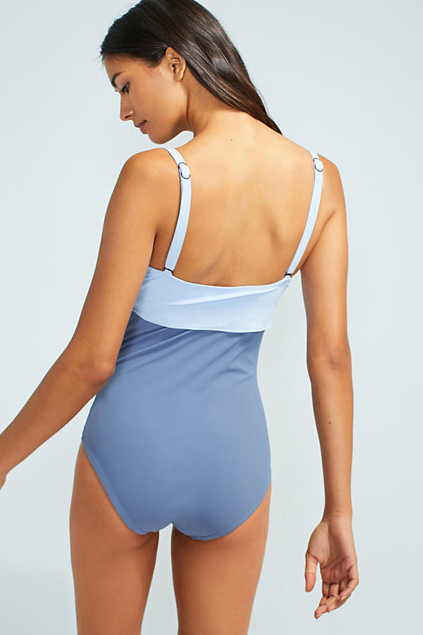 Slide View: 3: Flagpole Nora Tied One-Piece Swimsuit