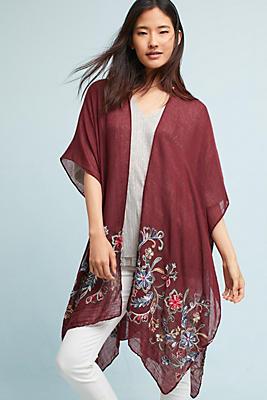 Slide View: 1: Iliana Embroidered Kimono