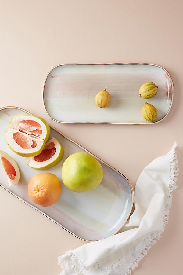 Karuma Platter - Orange Motif, Size Pltr/tray