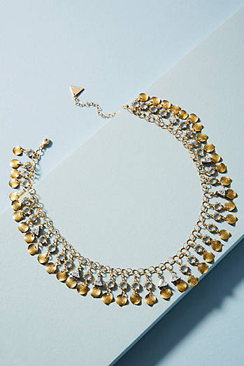 Alina Sparkle Bib Necklace