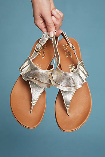 Seychelles Seclusion Ruffle Sandals