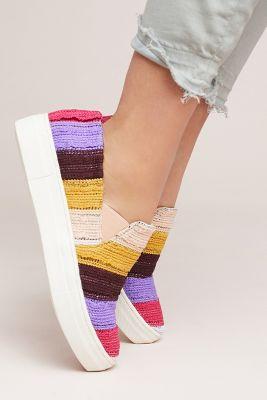 Seychelles   Seychelles Crocheted Fringe Sneakers  -    PURPLE MOTIF