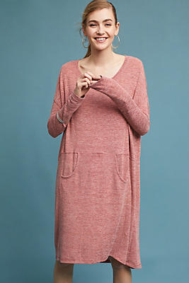 Slide View: 1: Oversized Cozy Lounge Dress