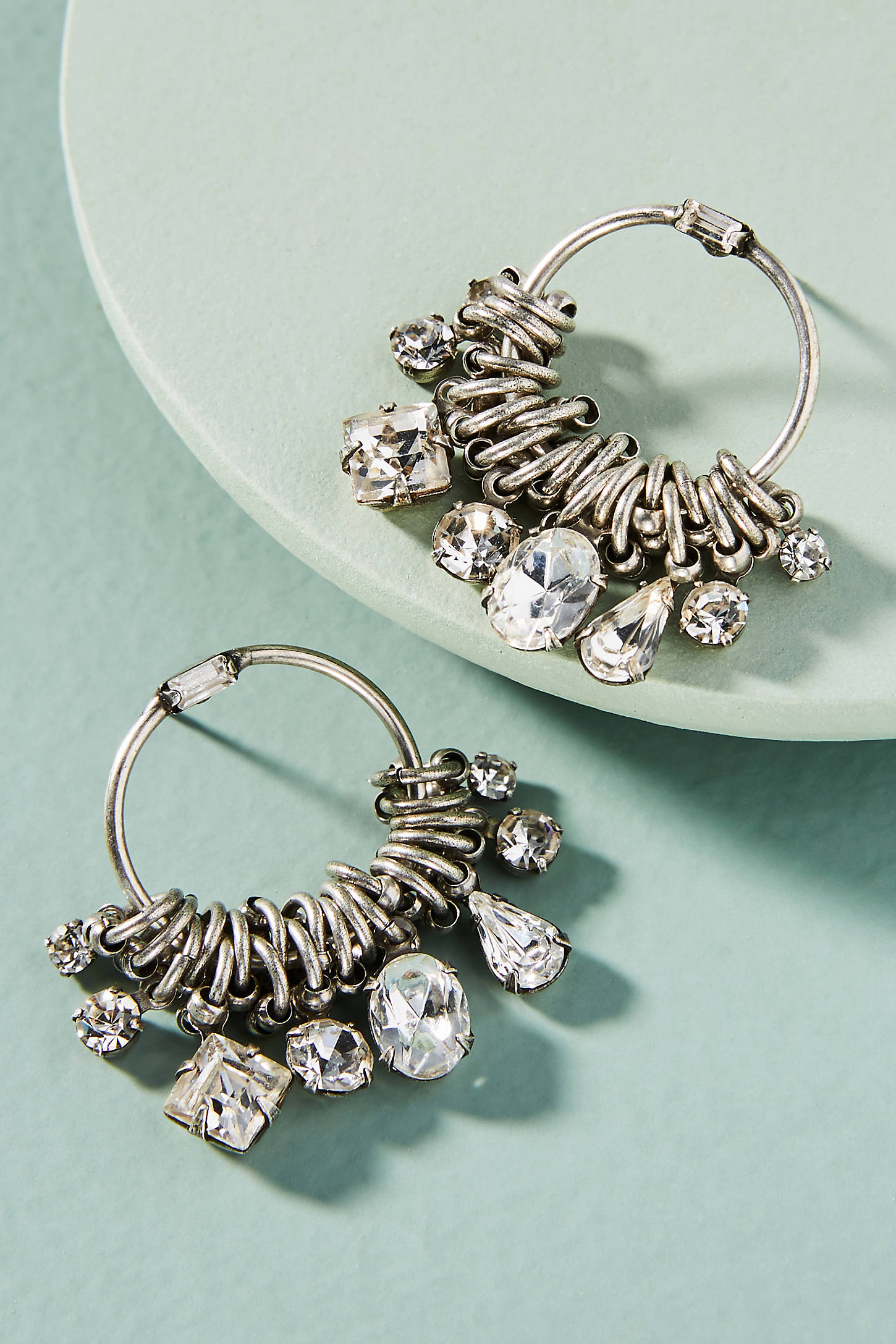Denman Hoop Earrings