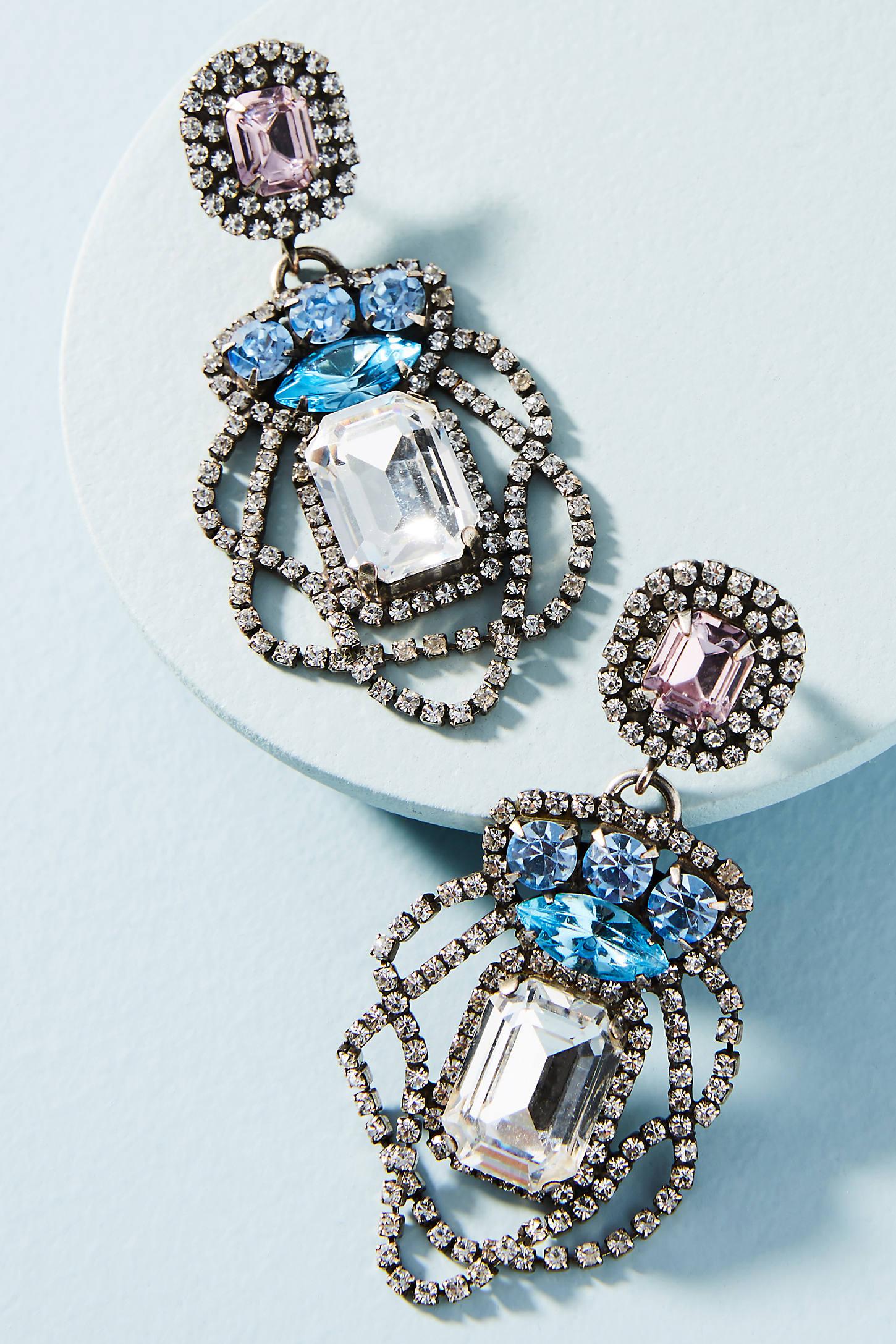Xenia Drape Drop Earrings