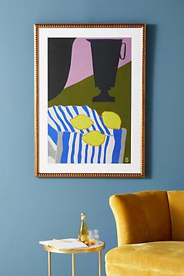 Slide View: 1: Lemons Wall Art