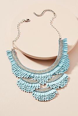 Slide View: 1: Cascade Bib Necklace