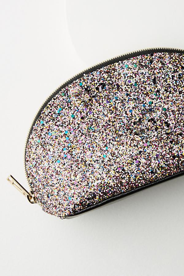 Glitter cosmetic bag