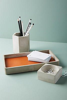 Slide View: 1: Cement Desk Tray
