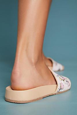 kaanas tulum rose slide sandals