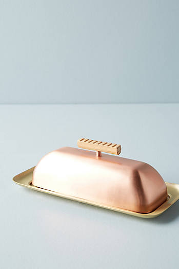 Metalwood Butter Dish