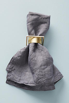 Slide View: 2: Sight Unseen Napkin Ring