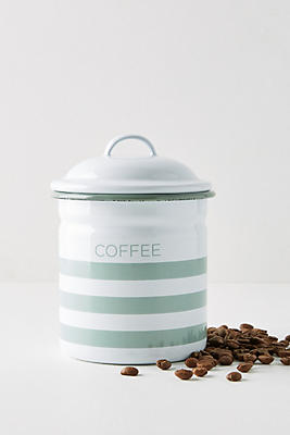Slide View: 1: Soho Home Hempton Enamelware Coffee Canister