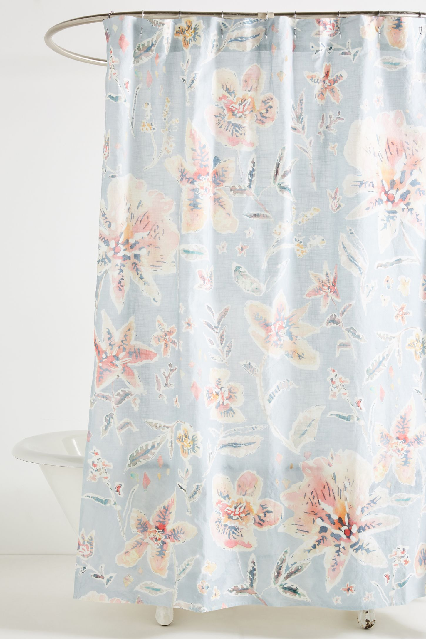 Unique & Boho Shower Curtains & Liners | Anthropologie