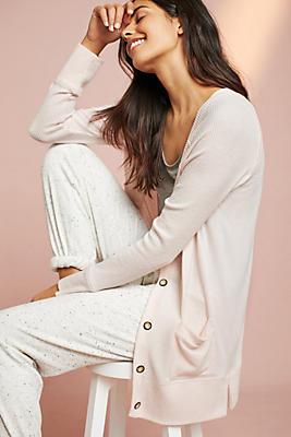 Slide View: 1: Splendid Vogue Brushed Fleece Cardigan