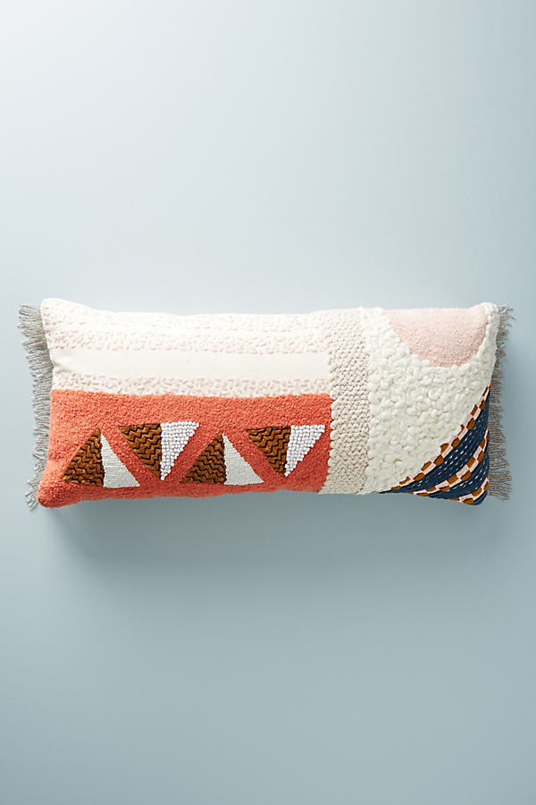 Embellished Shape Study Cushion - A/s, Size 12 X 27