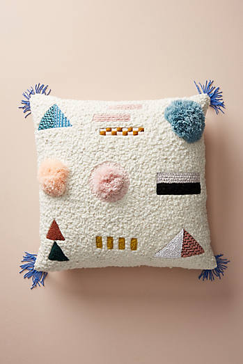 Embellished Shape Study Cushion