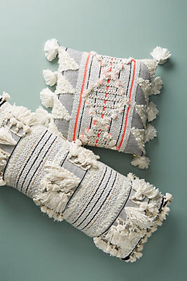 Slide View: 7: Woven Edna Pillow