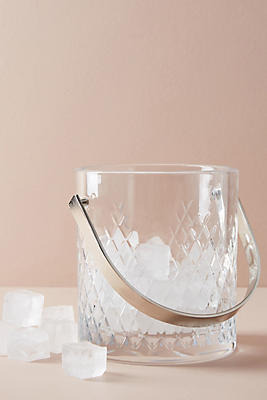 Slide View: 1: Soho Home Barwell Cut Crystal Ice Bucket