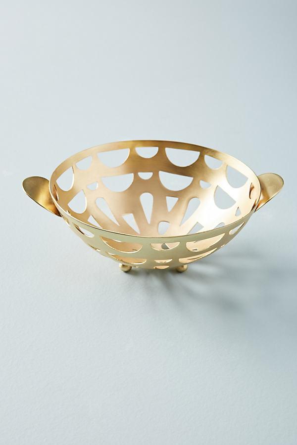 Mali Colander - Gold, Size Round