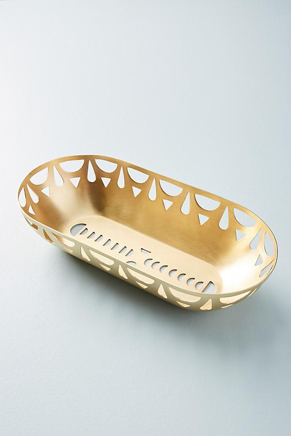 Mali Baguette Holder - Gold, Size Rectangle