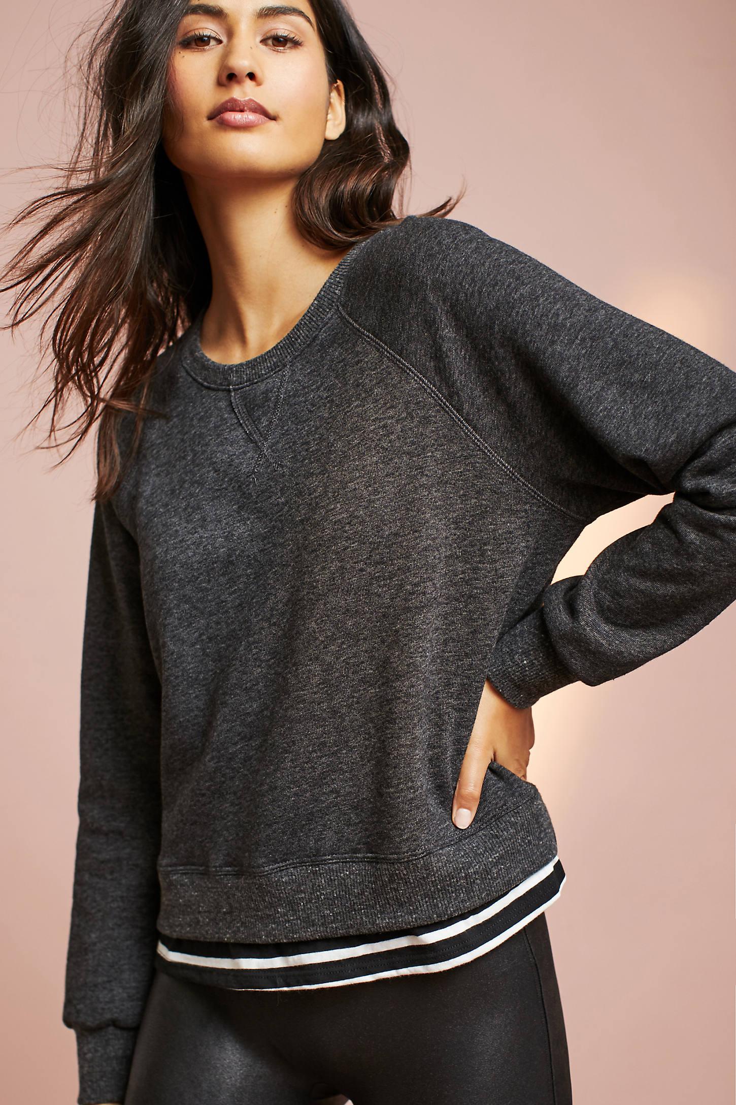 Sundry Layered Sweatshirt