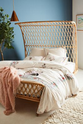 Embroidered Jordenna Duvet Cover