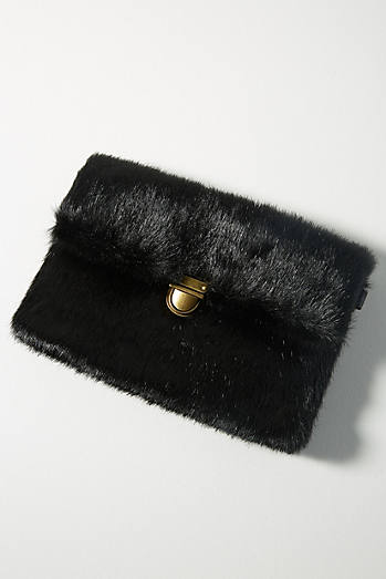 Faux Fur Mini Shoulder Bag