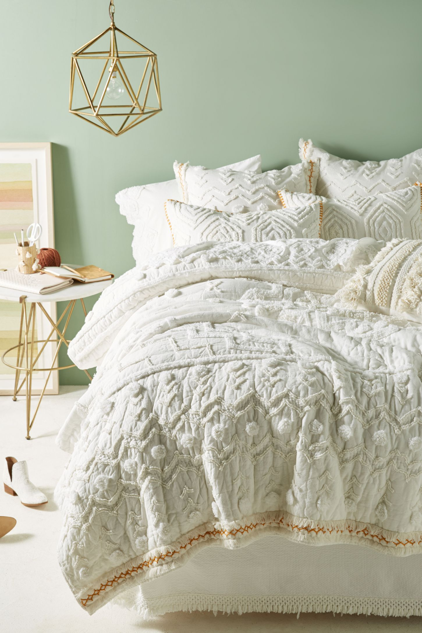 Attractive White Bedding | White Bed Sets | Anthropologie SA03