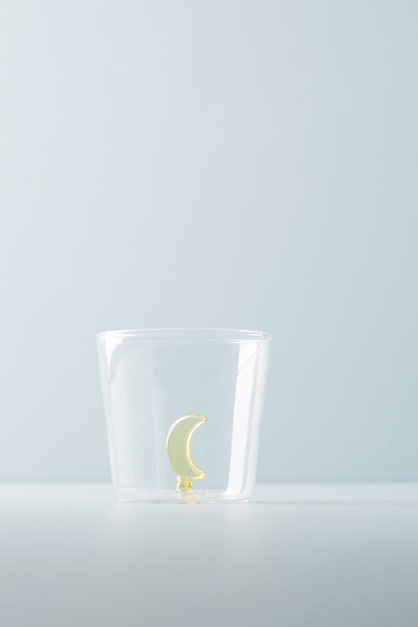 Bauble Tumbler - Yellow Motif, Size Juice