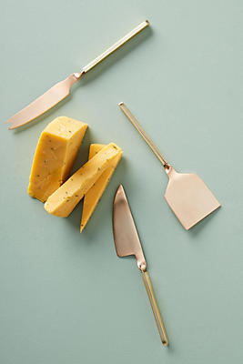 Slide View: 1: Hettie Cheese Knife Set