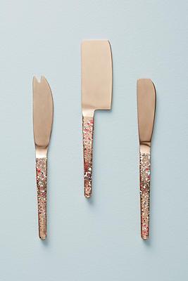 Slide View: 1: Sossi Cheese Knife Set