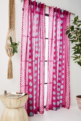 Red Curtains Drapes Anthropologie