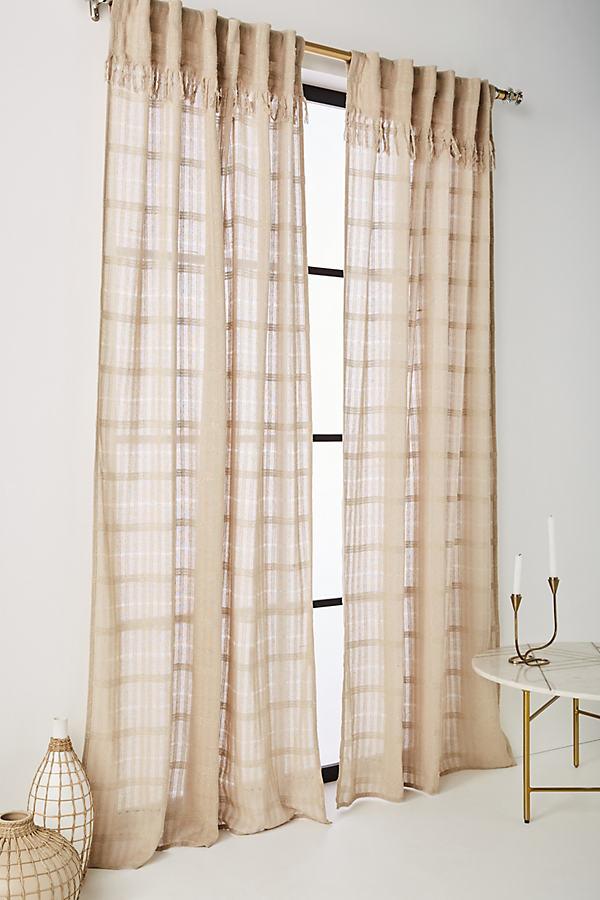 Anu Curtain - Ivory, Size 108