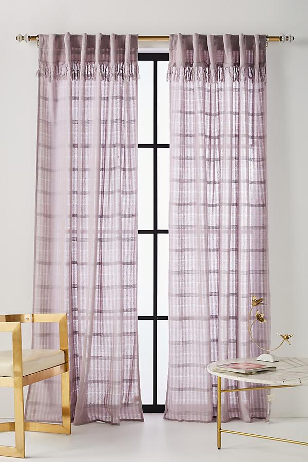 Anu Curtain - Lilac, Size 50 X 84