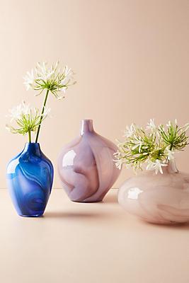 Slide View: 3: Swirled Glass Vase
