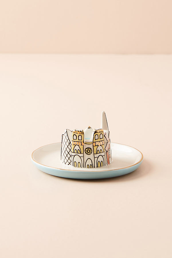 City Trinket Dish - Blue