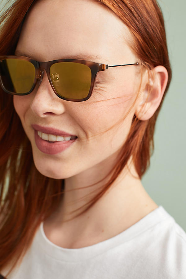 Slide View: 1: Haze Bruno Square Sunglasses