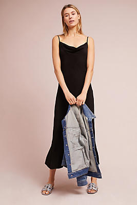 Slide View: 1: Bias Slip Dress